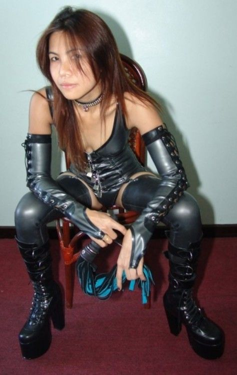 latex fetish thai flagga